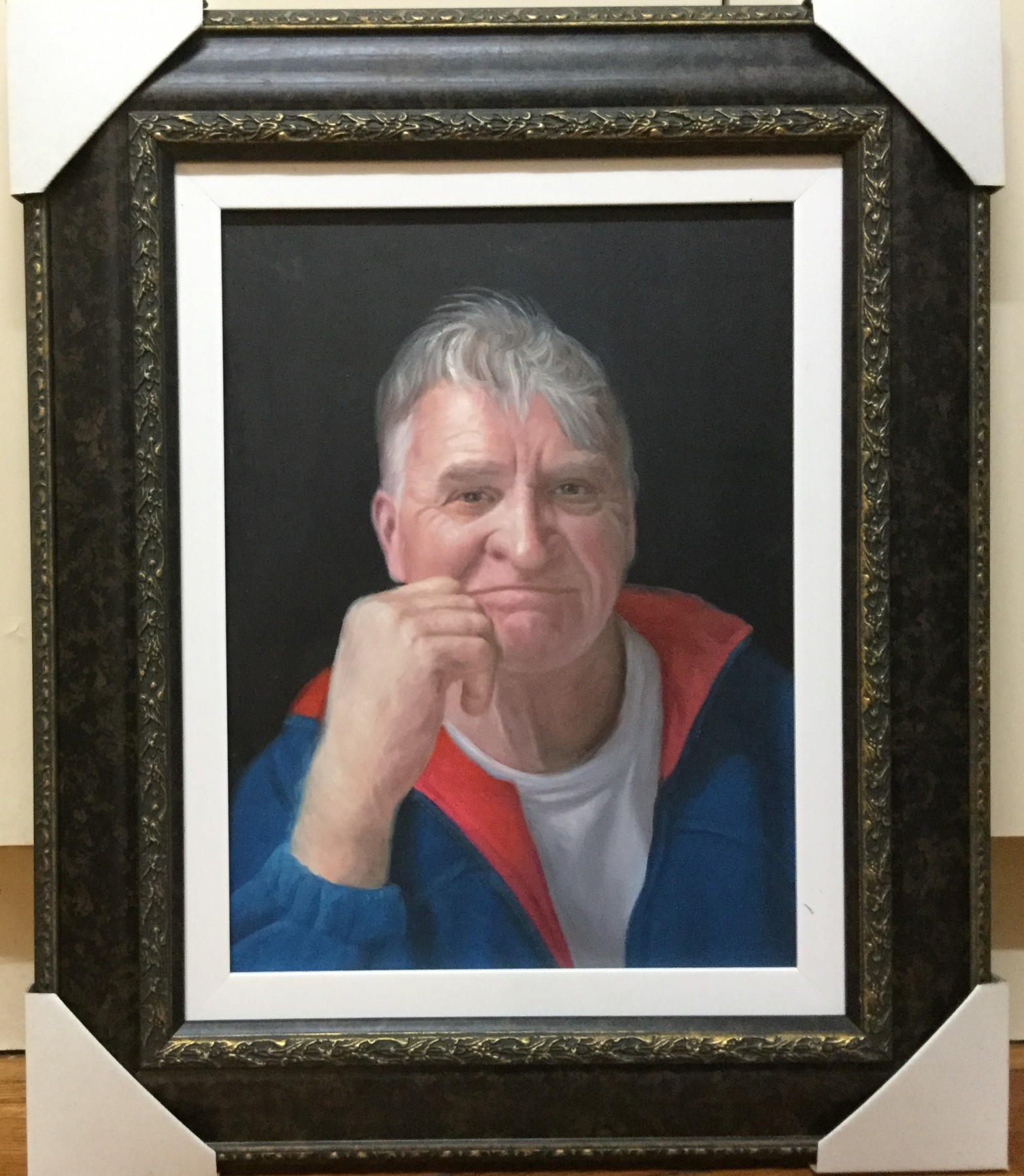 Portrait Painting Commission by Wayne Clements