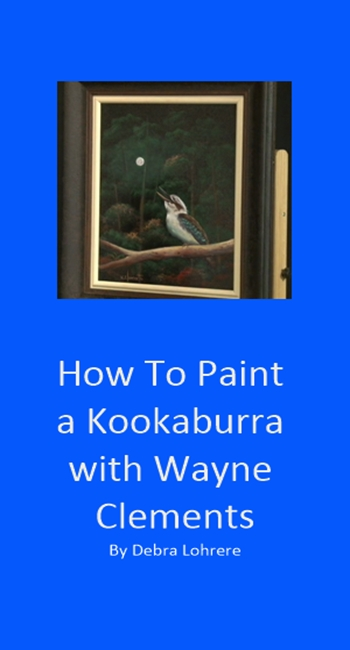 How To Paint a Kookaburra EBook